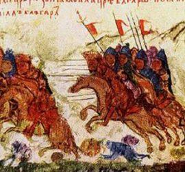 На 17 август 986 г. Самуил разгромява ромеите при Траянови врата