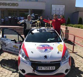 Екипажът Денис Станчовски и Явор Брънков първи в клас RC4 на рали спринт Дряново 2020