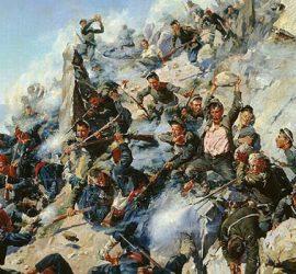 На 11 август 1877 г. е решителната битка за Шипка