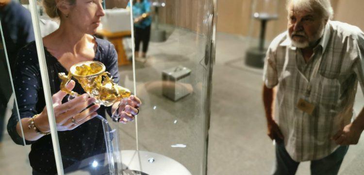 Панагюрското златно съкровище отново грейна на родното си място