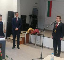 Новоизбраният кмет кмет на община Стрелча – инж. Георги Павлов положи клетва