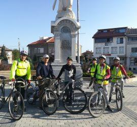 С 44-километров колоездачен поход приключи Седмицата на мобилността в община Панагюрище