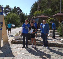 Лекоатлетът Иван Иванов с първо място в Ротари маратона за Деня на независимостта
