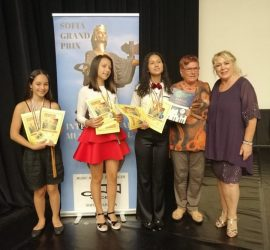 15 златни, 3 сребърни и 2 бронзови медала за панагюрските музикални таланти от Международния фестивал Sofia Grand Prix 2020