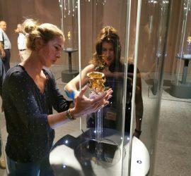 Над 5 000 посетители разгледаха оригинала на Панагюрското златно съкровище
