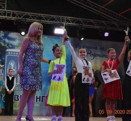 4 златни, 1 сребърен медала и купа за Николай Цанев и Елеонора Спасова от Националния турнир по спортни танци купа Велинград 2020
