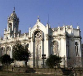 """Нa 25 октомври 1859 г. княз Никола Богориди поставя основния камък на Желязната църква """"Свети Стефан"""" в Истанбул"""