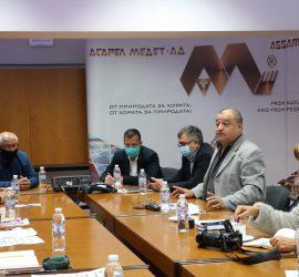 """Лидери на КНСБ се срещнаха с актива и изпълнителния директор на """"Асарел-Медет"""""""