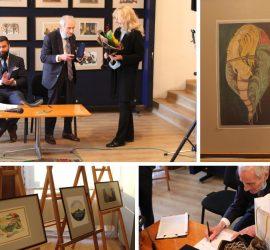 Акад. арх. Богоя Сапунджиев с изложба по случай 90- годишнината си в Панагюрище