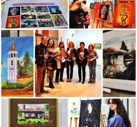 """Изложба """"С пулса на твореца"""" подредиха панагюрските творци-художници"""