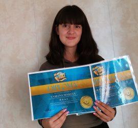 """Талантливата Василена Маслева с две отличия от големия онлайн конкурс """"Golden voice"""" в Малта"""