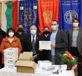 Ротари клуб-Панагюрище с дарение за Филиала на спешна помощ в града