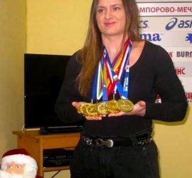 Мария Оряшкова е Спортист номер 4 на България за 2020 година