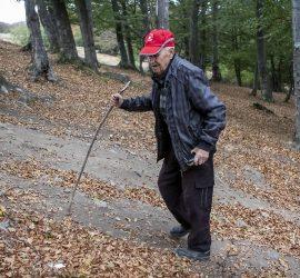 """Най-възрастният турист от ТД """"Бунай"""" Петко Узунов навърши 97 години"""