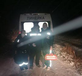 Панагюрски спешни медици спасиха 23-годишен мъж в преспите над с. Елшица