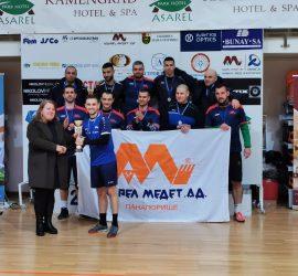 """Отборът на """"Асарел-Медет"""" е вицешампион на турнира по мини футбол """"Панагюрище рита -Бизнес къп"""""""