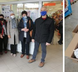 """43 човека от община Панагюрище бяха подпомогнати с хранителни продукти чрез инициативата """"Купи и Дари"""""""