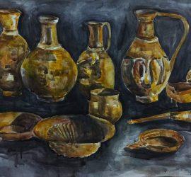 """Изложба живопис """"1340 години държавност"""" организират млади панагюрски художници на 1-ви март в музея"""