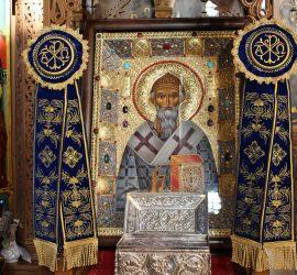 """Нова икона на Св. Спиридон обогати панагюрския храм """"Св. Въведение Богородично"""""""