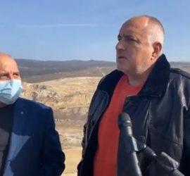 Премиерът Бойко Борисов бе на посещение в Панагюрище