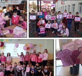 Панагюрски училища отбелязаха Деня на розовата фланелка