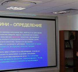 """Презентацията  """"COVID-19 и вирусни  ваксини"""" представи проф. Радка  Аргирова в """"Уни Хоспитал"""""""