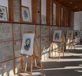 """Изложба """"1340 години държавност"""" подредиха млади художници в Исторически музей – Панагюрище"""