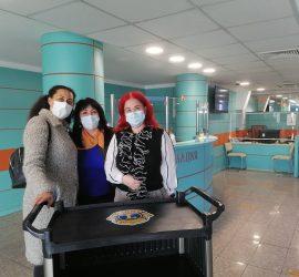 """Лайънс клуб-Панагюрище с дарение за МБАЛ""""Уни Хоспитал"""""""