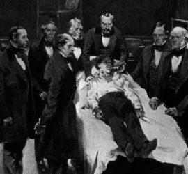 На 30 март 1842 г. д-р Кроуфърд Лонг използва за първи път анестезия при извършване на хирургична операция