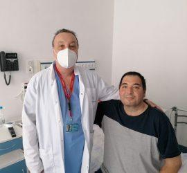 """Пациент на """"Уни Хоспитал"""" се възстанови след COVID-19 и 78 дни лечение в Реанимация"""