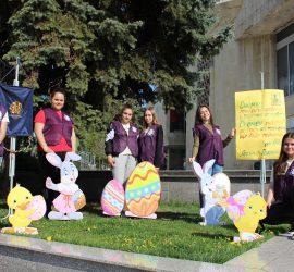 """""""Лео клуб"""" организира благотворителен Великденски базар, средствата, от който ще бъдат дарени на абитуриент в нужда"""