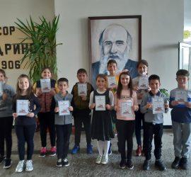 """Дриновци с високи резултати от Националното състезание по английски език """"Аз общувам с Европа"""""""
