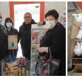 """28 човека от община Панагюрище бяха подпомогнати с хранителни продукти чрез инициативата """"Купи и Дари"""""""