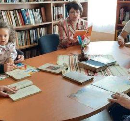 Щафетно четене на Ботеви стихове в библиотеката на читалището в с.Оборище