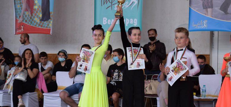 Поредни успехи за танцовата двойка Николай Цанев и Елеонора Спасова в Националния турнир за купа Велинград