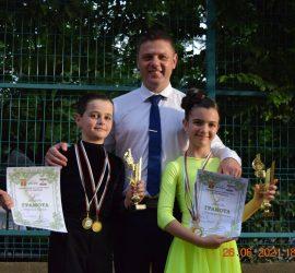 Блестящо представяне на танцовата двойка Николай Цанев и Елеонора Спасова на турнир в гр. Чирпан