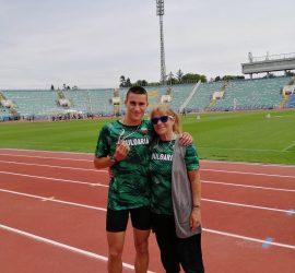 Панагюрският атлет Иван Иванов е в състава на българския отбор на Балканидата в Белград