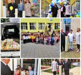 Лайънс клуб и Ротари клуб- Панагюрище зарадваха с подаръци децата в детските градини