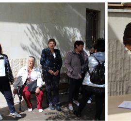 Мълчалив протест в подкрепа на Районен съд – Панагюрище /видео/