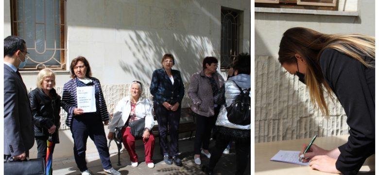 4492 подписа бяха събрани в подкрепа на Районен съд-Панагюрище