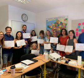 """Учители от ОУ """"Двайсти април"""" на структурирани курсове във Франция и Италия по проект """"Играта като фактор за успех и приобщаване"""" на програма  """"Еразъм +"""""""