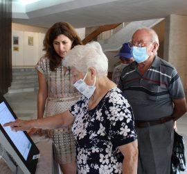Засилен интерес при пробното машинно гласуване в Панагюрище. Демонстрация  за работа с машина за гласуване на 9 юли ще има в селата Бъта, Баня, Поибрене и Оборище