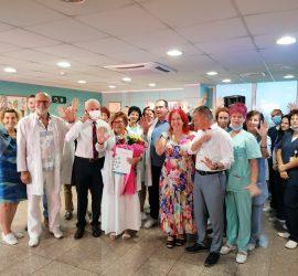 """Днес Онкологичният център в """"Уни Хоспитал"""" отпразнува 5 години от създаването си"""