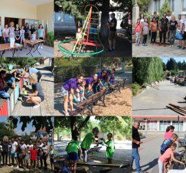 Детски площадки и кътове за отдих бяха реновирани благодарение на акциите, проведени в Дни на младежките активности в община Панагюрище