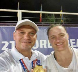 Мария Оряшкова стана световна шампионка и на плажно самбо