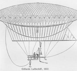 24 септември 1852 г. – Първият полет с дирижабъл!