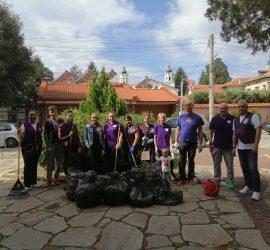 """""""Лайънс клуб"""" и """"Лео клуб""""- Панагюрище се включиха активно в Световния ден на почистването"""