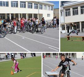 """С велосипедно състезание и щафета в ОУ""""Двайсти април"""" отбелязаха Европейската седмица на мобилността"""