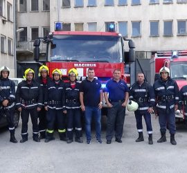 Пожарникарите отбелязват днес своя професионален празник