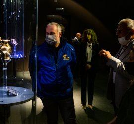 Делегация на Асоциацията на европейските градове и столици на спорта посети Историческия музей и се впечатли от Панагюрското съкровище